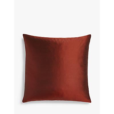 John Lewis & Partners Plain Pure Silk Cushion