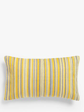 John Lewis & Partners Crewel Stripe Cushion