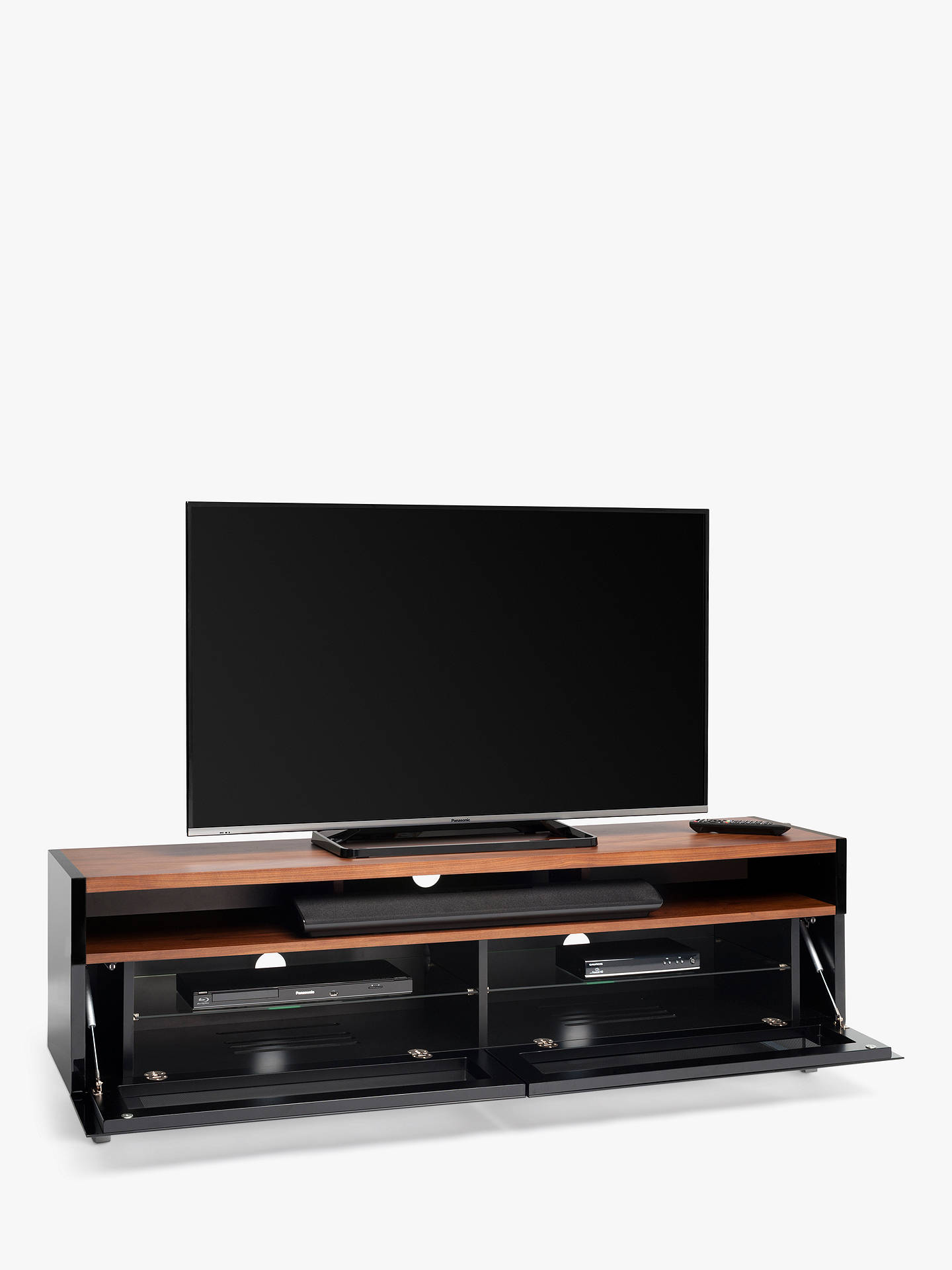 Buytechlink panorama pm160 tv stand for tvs up to 80 with double sided top