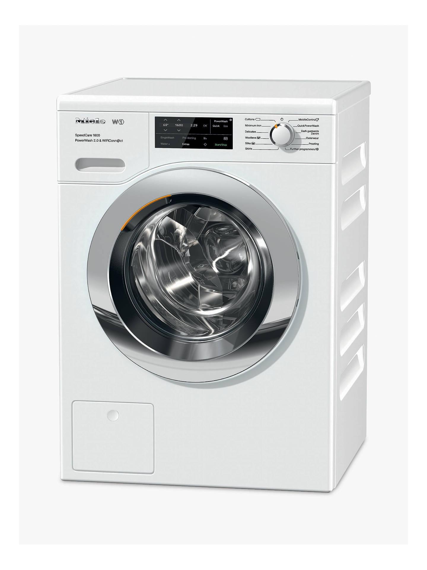 Miele Washing Machine >> Miele Wch360 Washing Machine A Energy Rating 8kg 1600rpm