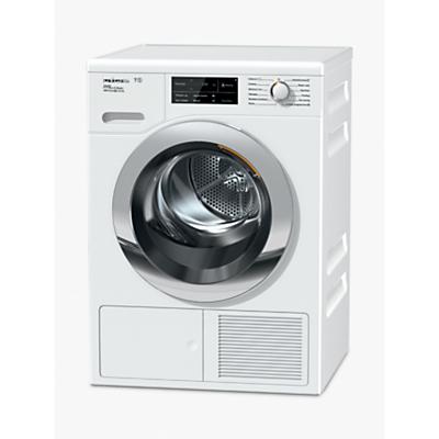 Miele TCJ680WP Tumble Dryer, 9kg Load, A+++ Energy Rating, White