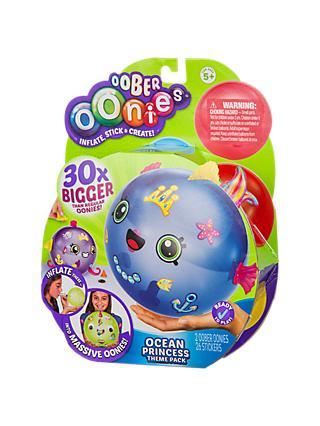 oonies oober ocean princess theme refill pack