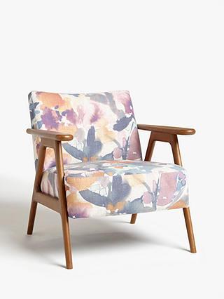 John Lewis Amp Partners Hendricks Accent Chair Dark Wood