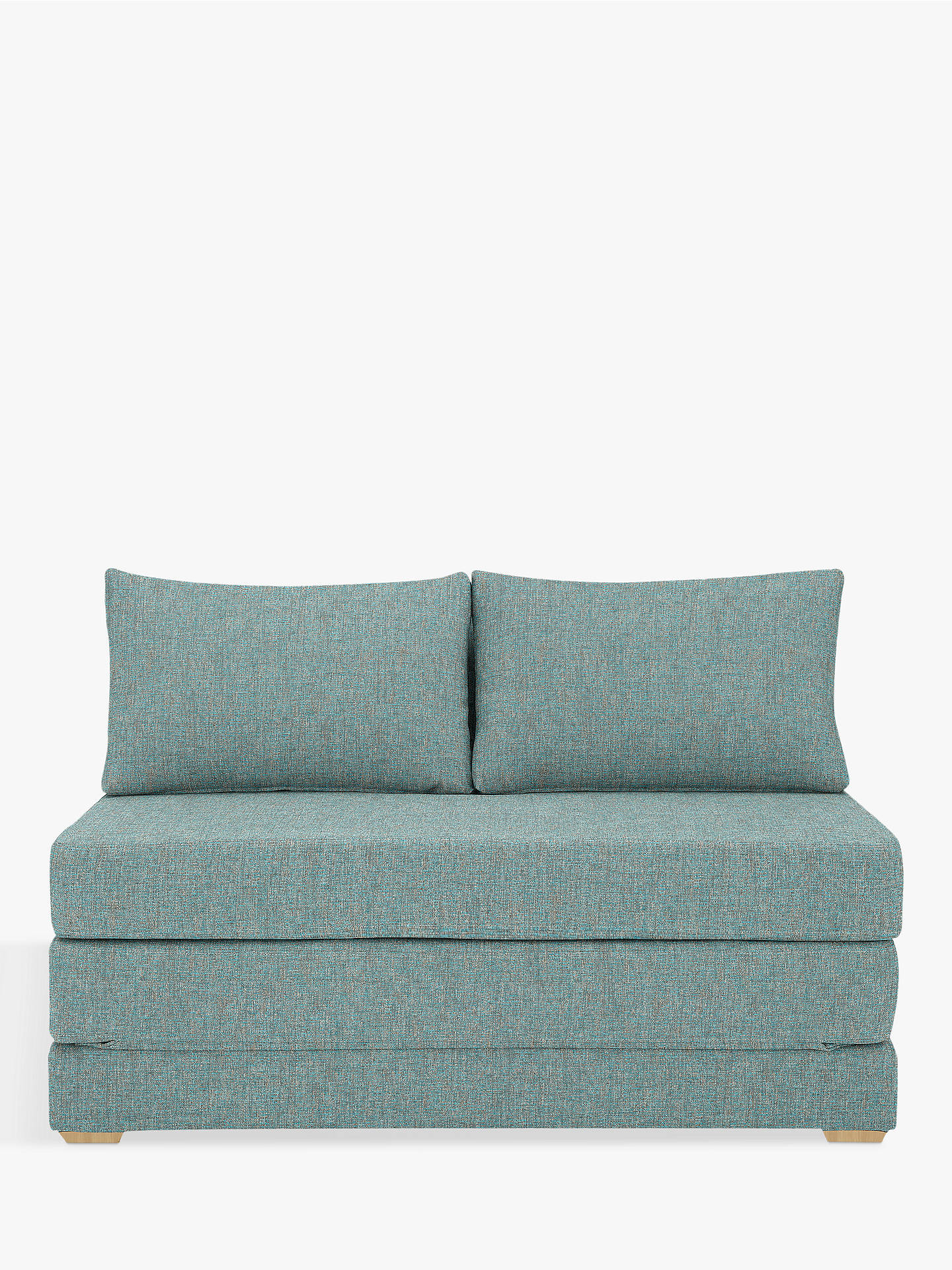Marvelous House By John Lewis Kip Small Double Sofa Bed Light Leg Riley Teal Ocoug Best Dining Table And Chair Ideas Images Ocougorg