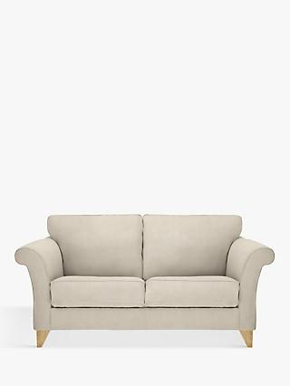 John Lewis & Partners Charlotte Medium 2 Seater Sofa, Light Leg, Edie Grey