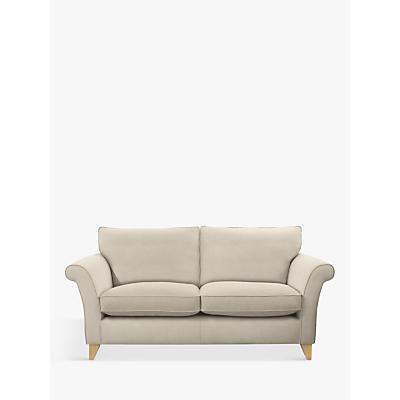 John Lewis & Partners Charlotte Large 3 Seater Sofa, Light Leg, Edie Grey