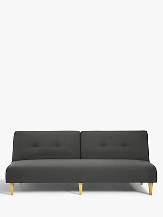 Clapton Range, House by John Lewis Clapton Fixed Back Sofa Bed, Light Leg