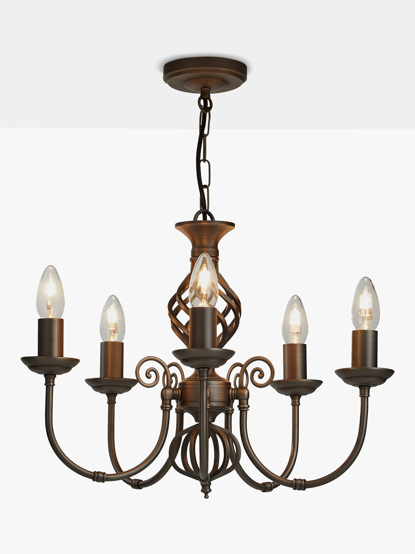 Buy john lewis partners malik chandelier ceiling light nickel online at johnlewis
