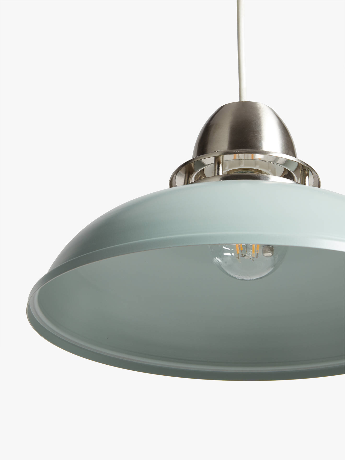 Buy John Lewis & Partners Carmine Easy-to-Fit Ceiling Shade, Lichen Online at johnlewis.com