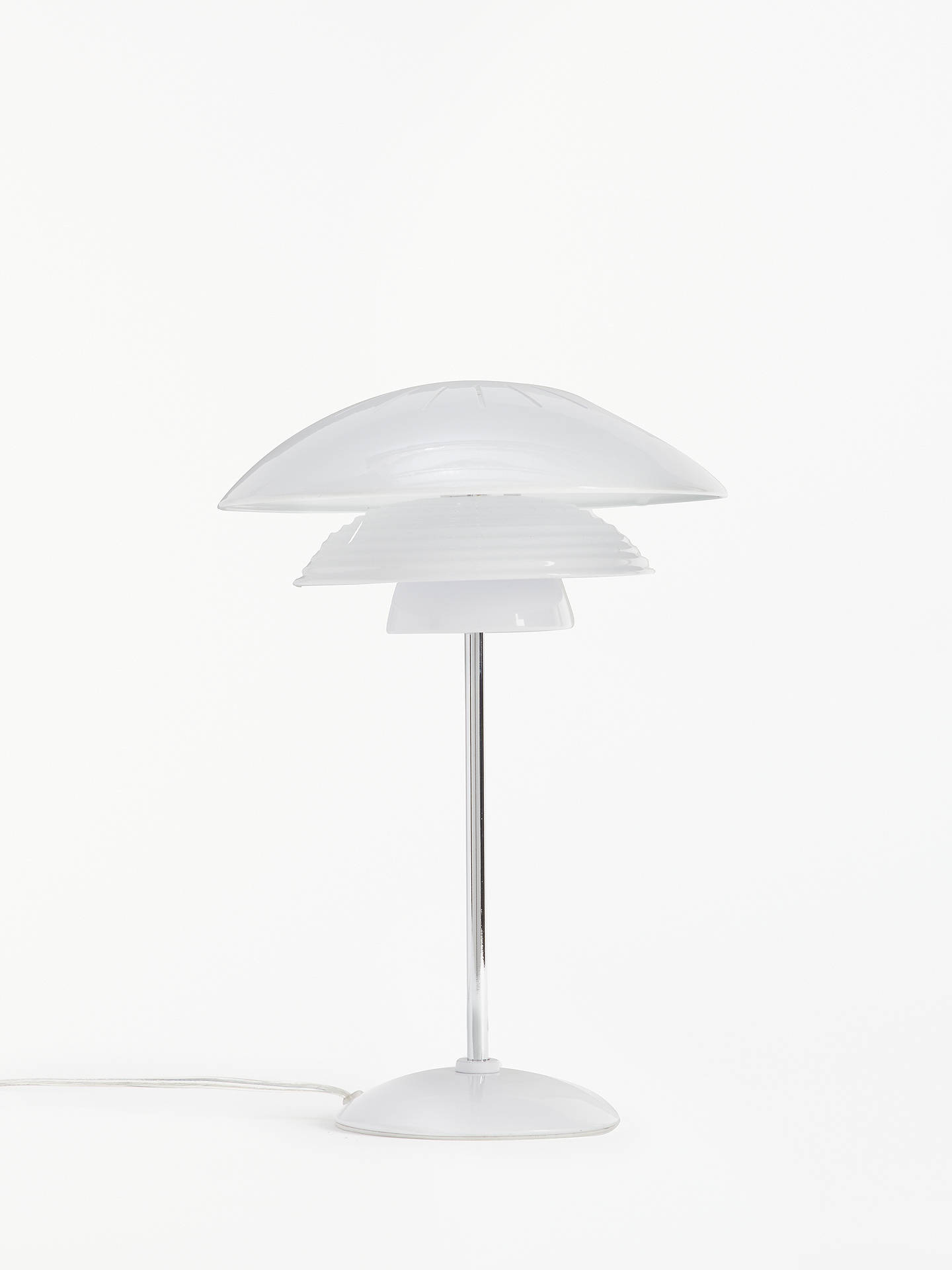 BuyHouse by John Lewis Stockholm Table Lamp, White Online at johnlewis.com