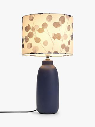 John Lewis & Partners Helmsley Ceramic Table Lamp, Navy