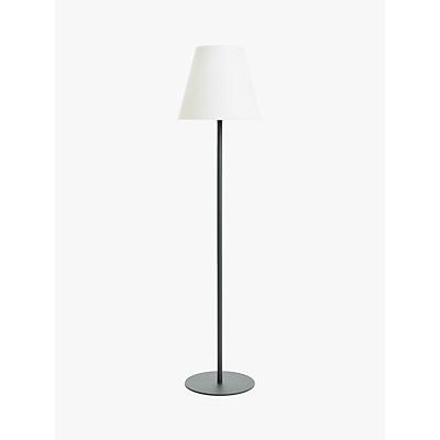 John Lewis & Partners Kyoto LED Outdoor Floor Lamp, White/Grey