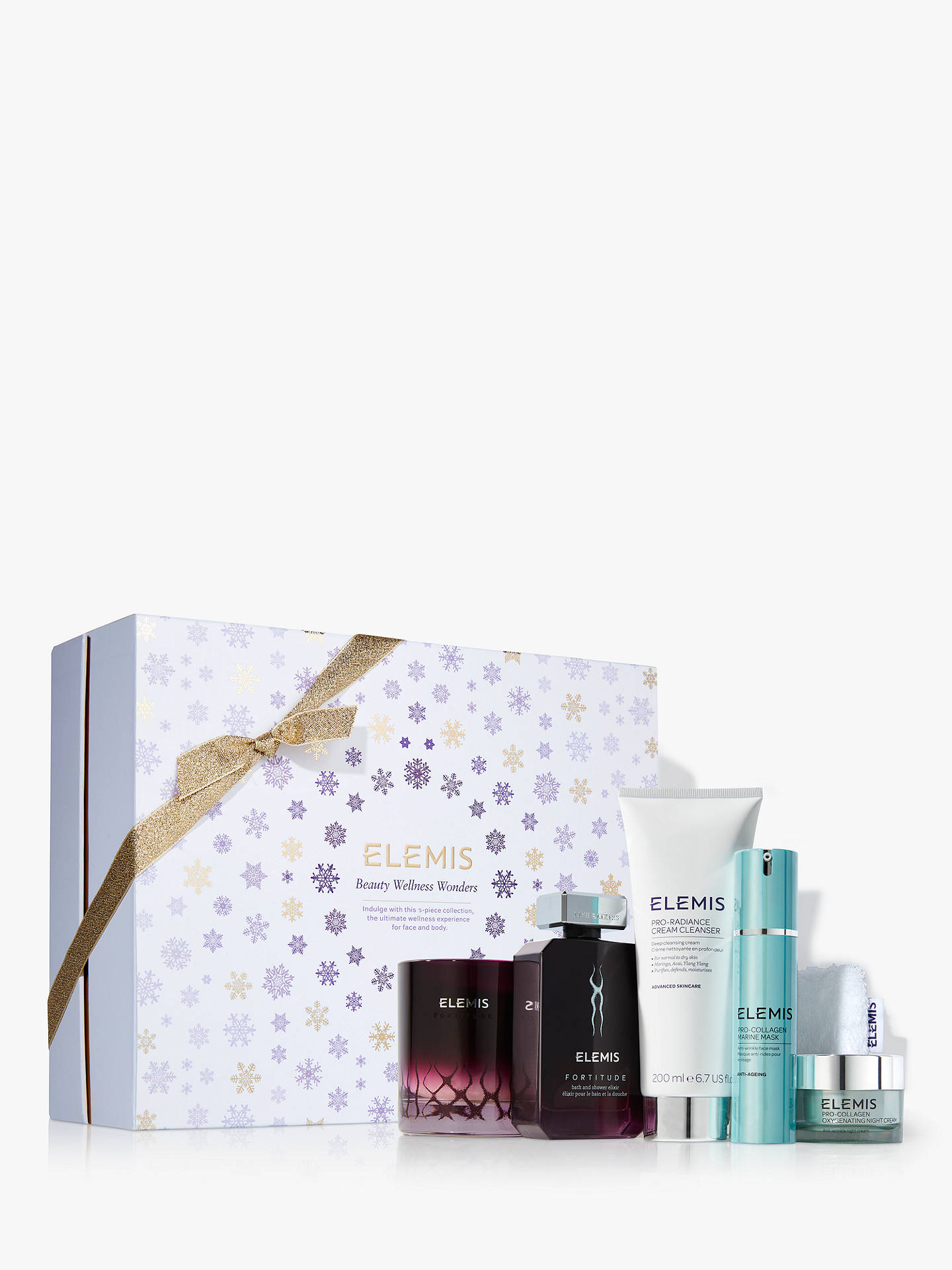 BuyElemis Beauty Wellness Wonders Skincare Gift Set Online at johnlewis.com
