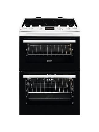 Zanussi ZCI66250 Freestanding Electric Cooker, A Energy Rating, 60cm Wide