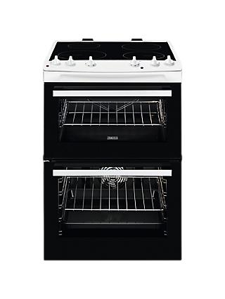 Zanussi ZCI66050 Freestanding Electric Cooker, A/A Energy Rating, 60cm Wide