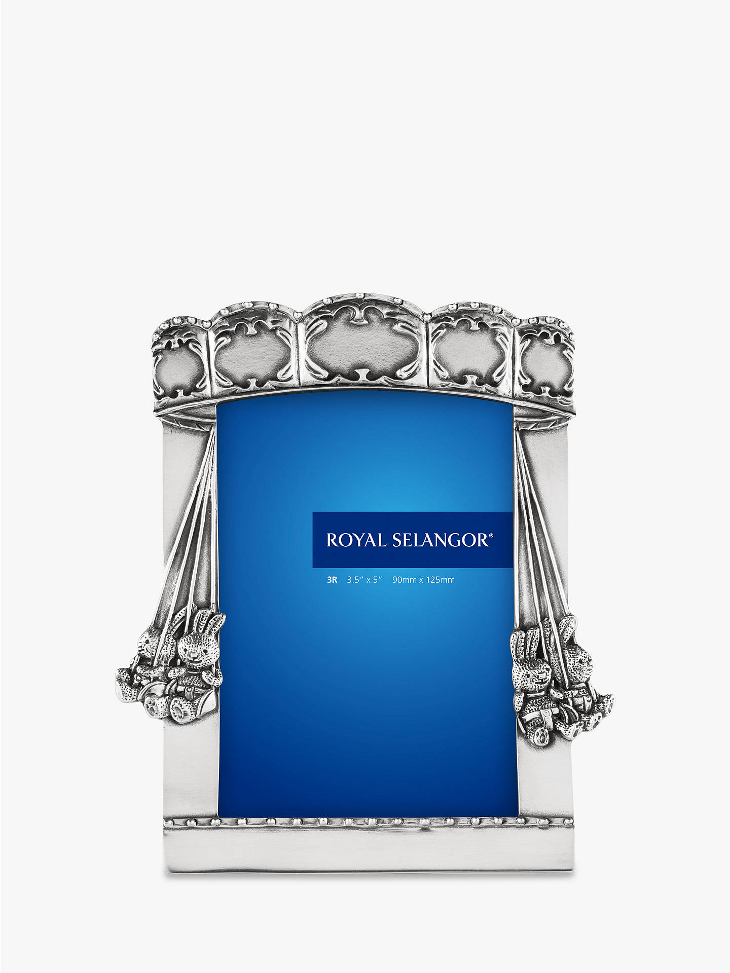 a60a40c0a10 Buy Royal Selangor Carousel Pewter Photo Frame Online at johnlewis.com ...