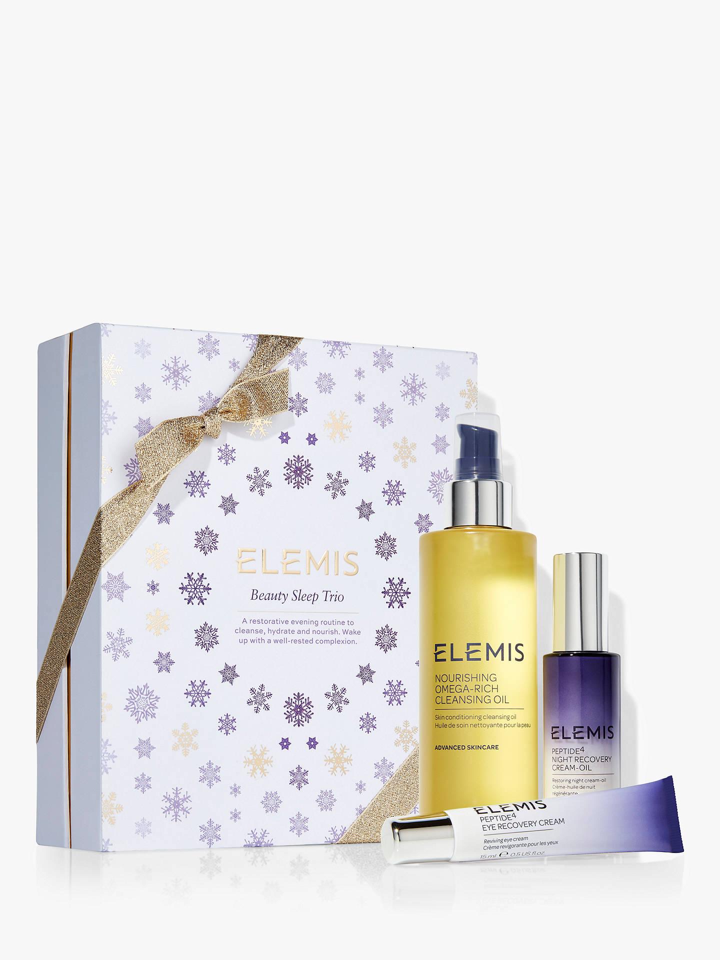 BuyElemis Beauty Sleep Trio Skincare Gift Set Online at johnlewis.com