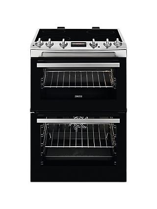 Zanussi ZCV66250 Freestanding Electric Cooker, A/A Energy Rating, 60cm Wide