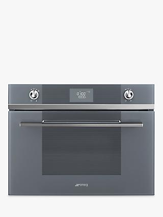 Smeg SF4102MCN Linea Integrated Combination Microwave Oven