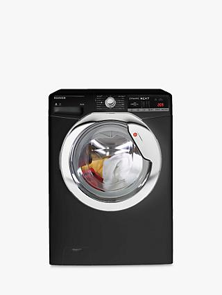 Hoover WDXOA4106HCB-80 Freestanding Washer Dryer, 10kg Wash/6kg Dry Load, A Energy Rating, Black