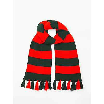 Image of Eaton House (Belgravia) Scarf, Red/Green