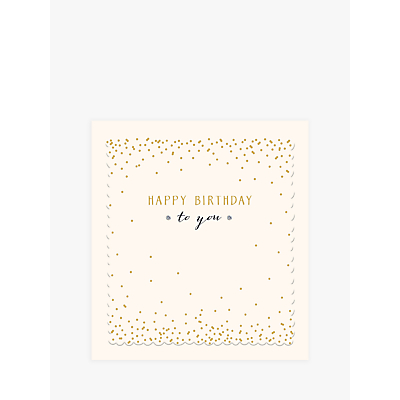 Image of Woodmansterne Happy Birthday To You Birthday Card