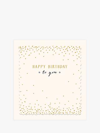 Woodmansterne Happy Birthday To You Card