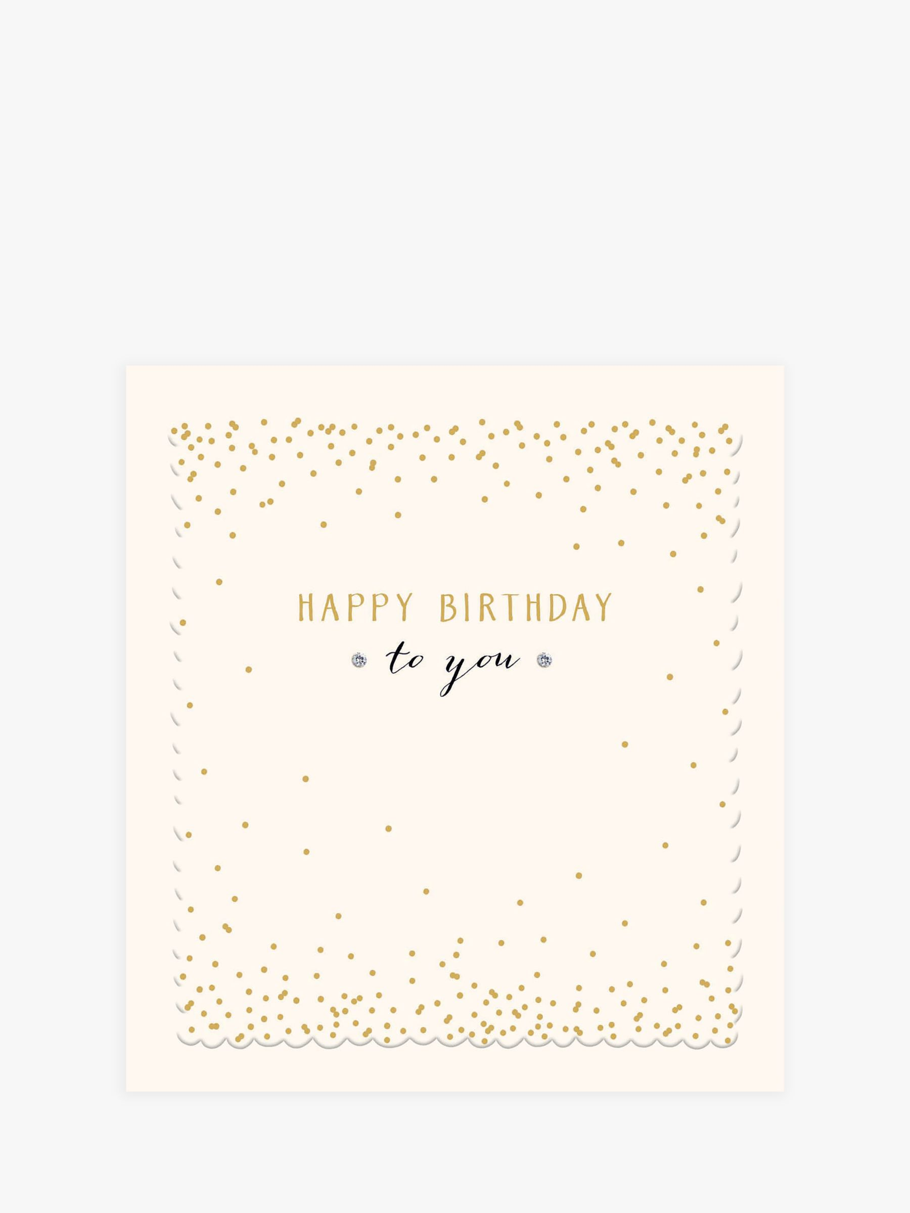 Woodmansterne Woodmansterne Happy Birthday To You Birthday Card