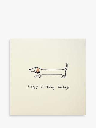 Ruth Jackson Birthday Dog Birthday Card