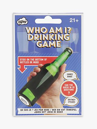 NPW Who Am I Drink Game Stickers