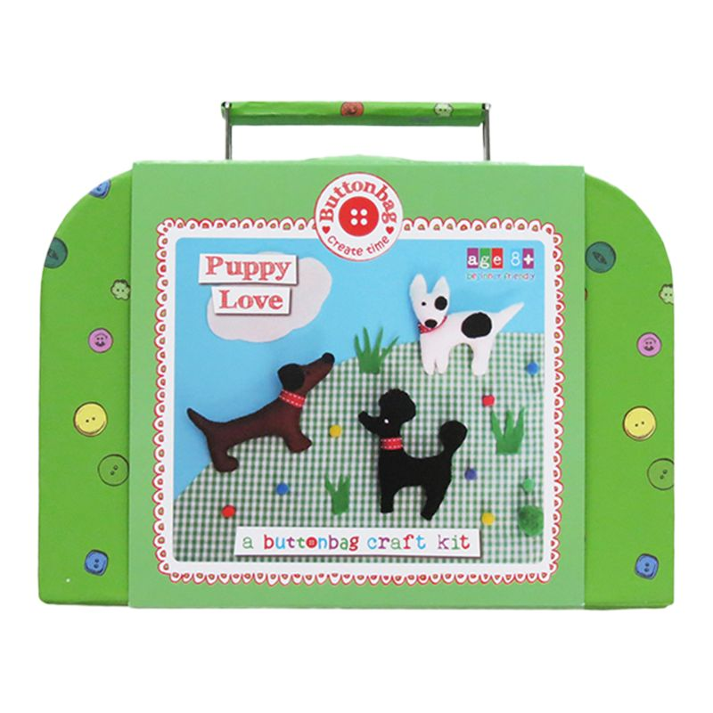 Buttonbag Buttonbag Puppy Love Craft Kit