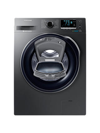 Buy Samsung WW90K6414QX/EU Washing Machine, 9kg, A+++ Energy Rating, 1400rpm Spin, Grey Online at johnlewis.com