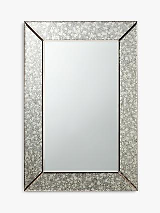 John Lewis & Partners Greta Bevelled Mirror, 90 x 60cm, Clear