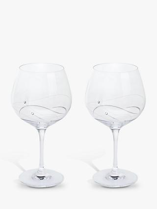 Dartington Crystal Glitz Gin and Tonic Copa Glass, 610ml, Set of 2