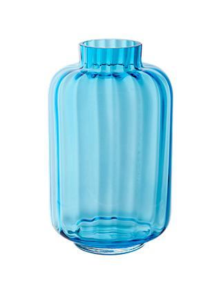 Dartington Crystal Little Gems Vase, Turquoise
