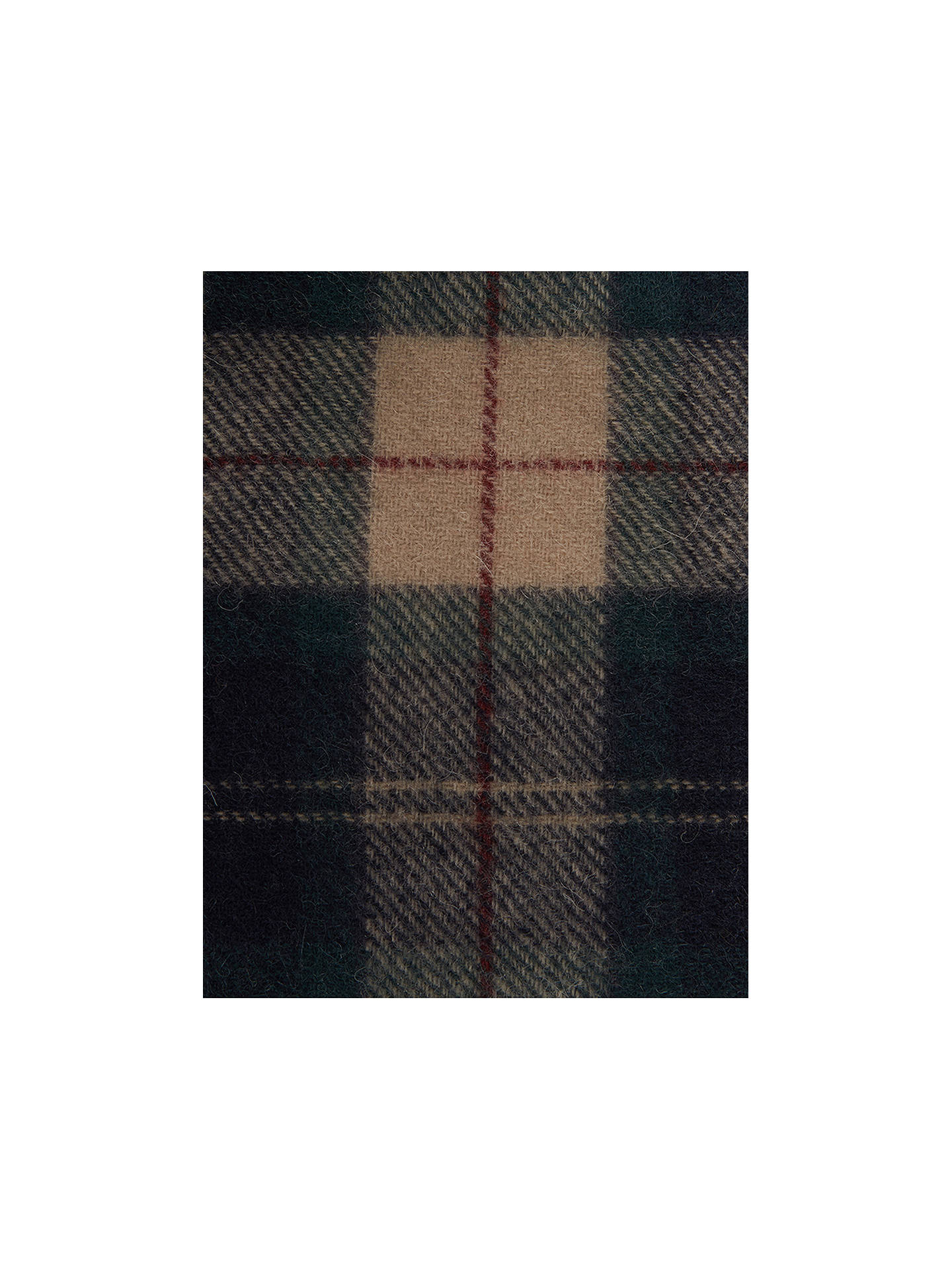 BuyBarbour Land Rover Defender Lambswool Cashmere Tartan Scarf, Multi Online at johnlewis.com