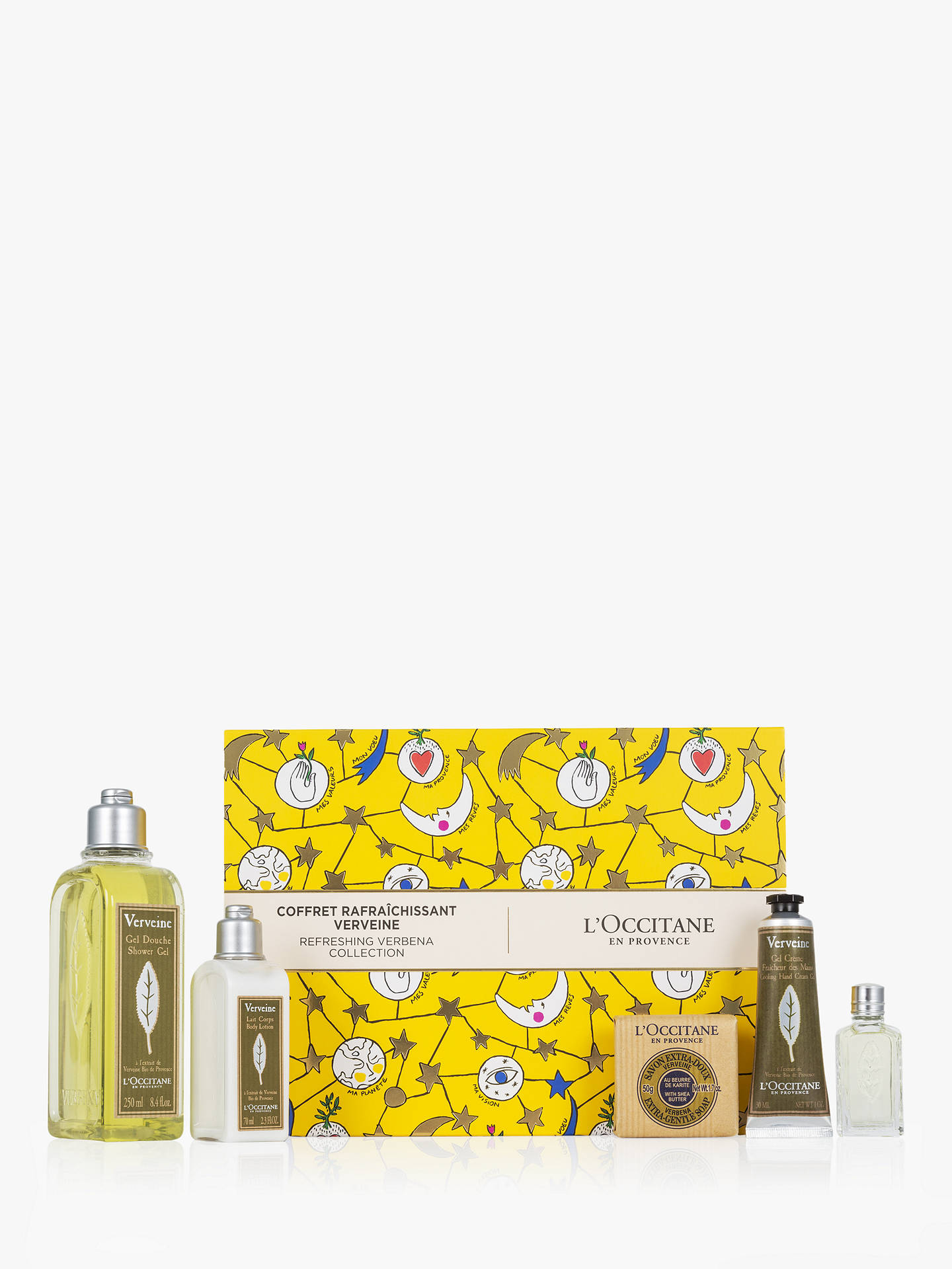 BuyLOccitane My Refreshing Verbena Body Care Gift Set Online At Johnlewis