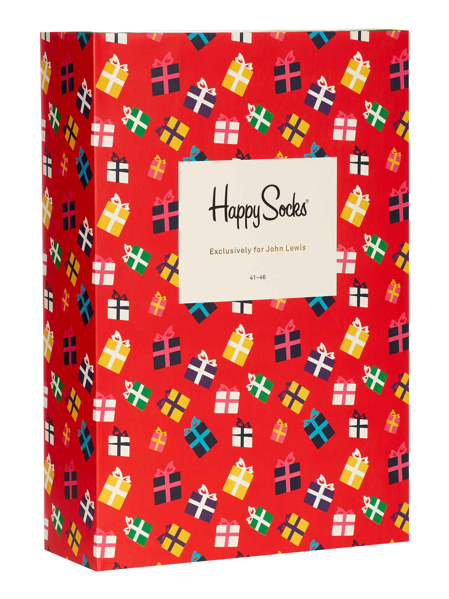 Happy Socks Sock Advent Calendar, One Size, Pack of 24