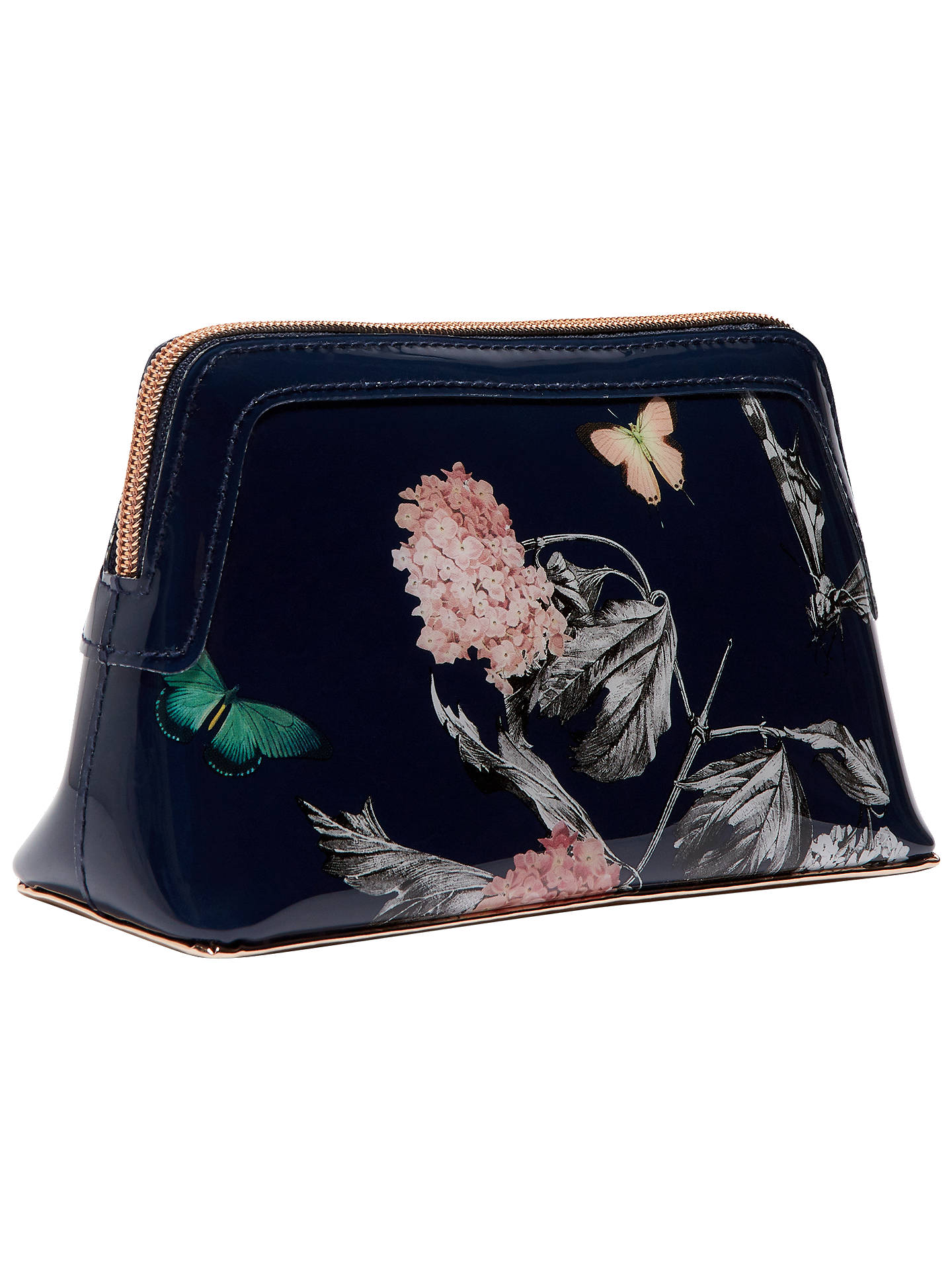BuyTed Baker Nylon Wash Bag, Floral Online at johnlewis.com