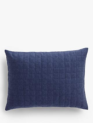 House By John Lewis Jersey Cushion Navy