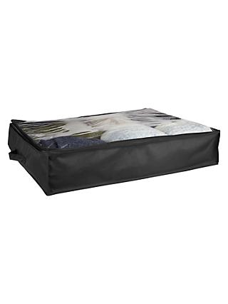 John Lewis & Partners Underbed Storage Bag, Black