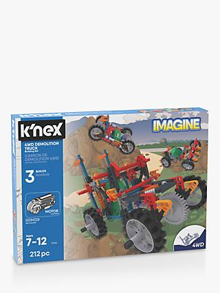 K'Nex 13026 4WD Demolition Truck Building Set