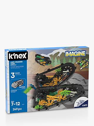 K'Nex 13127 4WD Crusher Tank Building Set