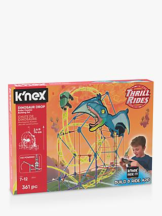 K'Nex 28041 Dinosaur Drop Roller Coaster Building Set