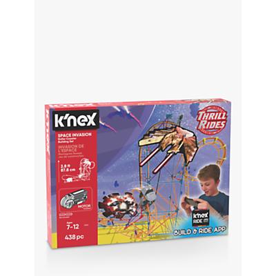 K'Nex 27044 Space Invasion Roller Coaster Building Set