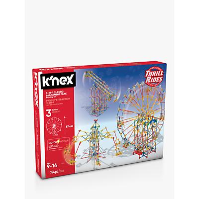 KNex 17035 3-In-1 Classic Amusement Park Building Set