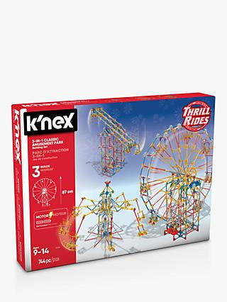 K'Nex 17035 3-In-1 Classic Amusement Park Building Set