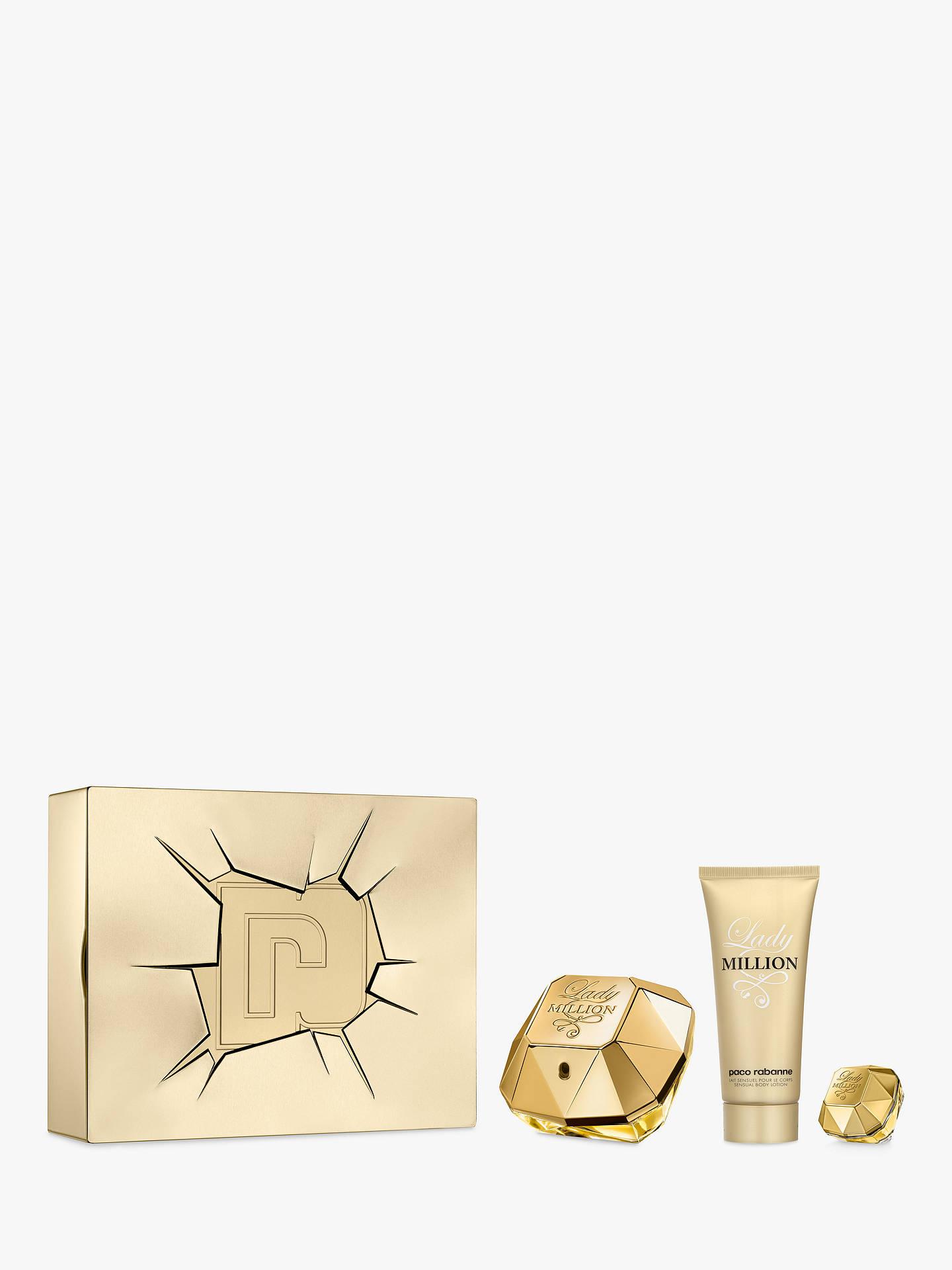 07814ab47 Buy Paco Rabanne Lady Million 80ml Eau de Parfum Fragrance Gift Set Online  at johnlewis.