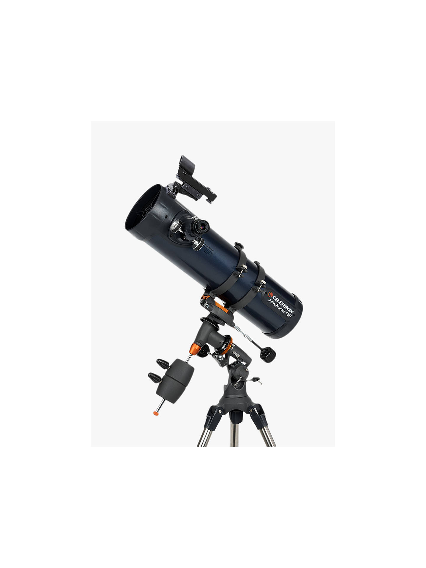 Buy Celestron AstroMaster 130EQ-MD Reflector Telescope Online at johnlewis.com