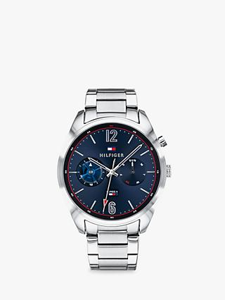 b8800b05c99f Tommy Hilfiger 1791551 Men s Deacon Chronograph Day Bracelet Strap Watch